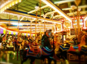 My thoughts send me on a carousel...